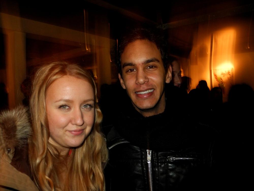 Jag och Philip på Ljunggrens