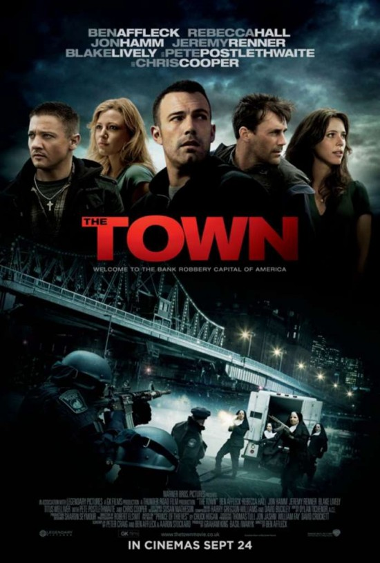 The Town poster.