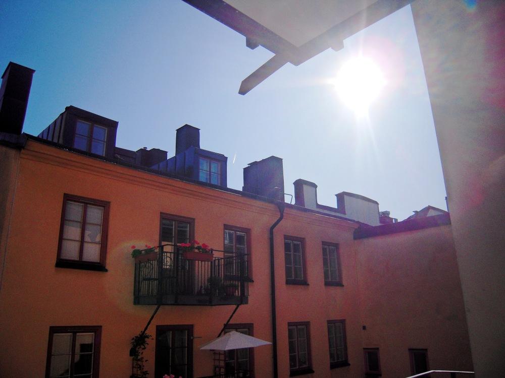 Innergård på Norrmalm