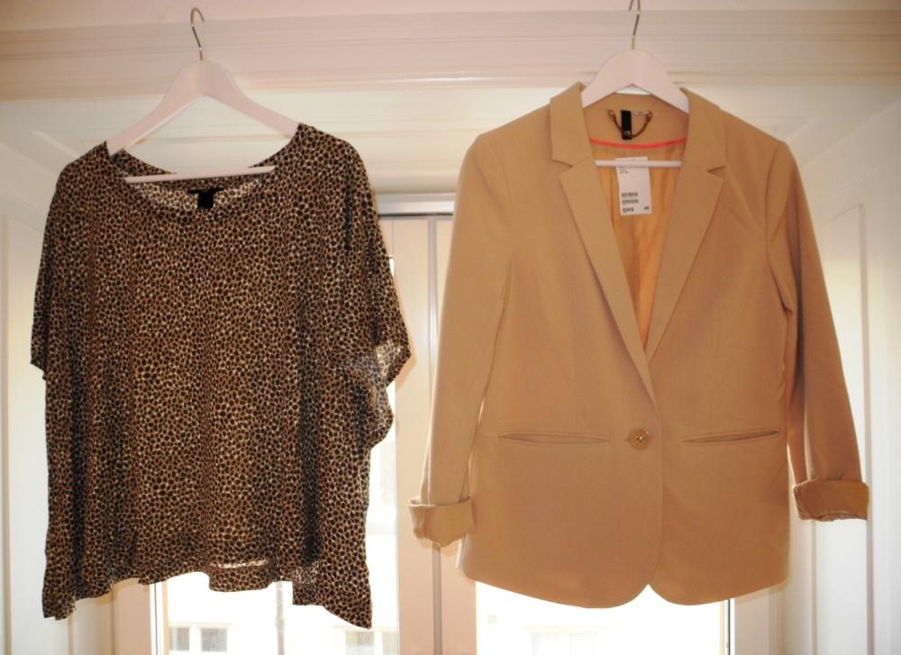 nude & leopard, tröja och blazer.