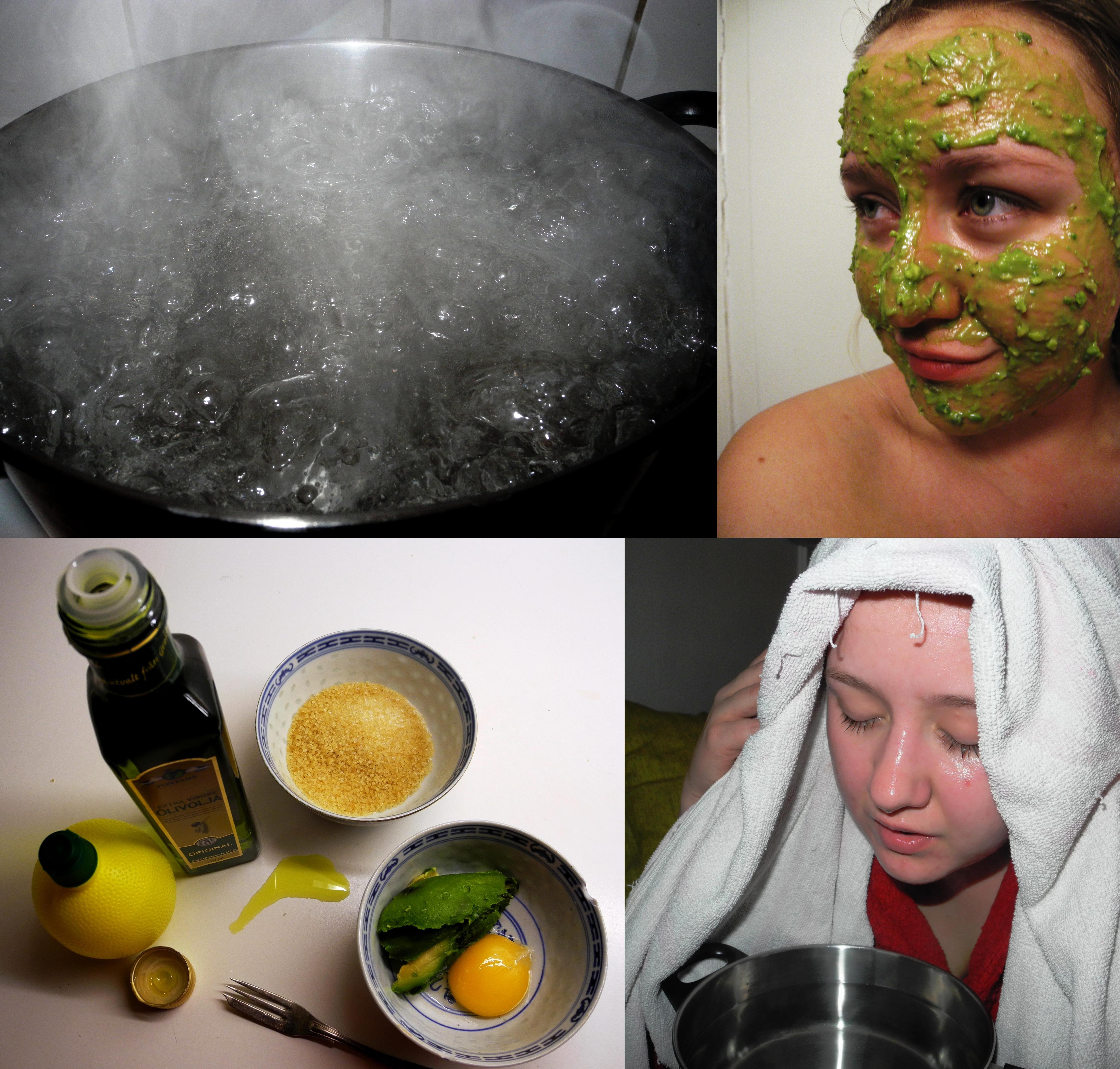 ansiktsmask för torr hud